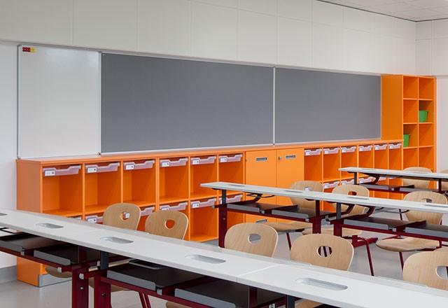 Special cupboards classroom