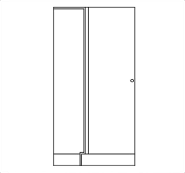 Corner cupboards ARMADIO-BASE