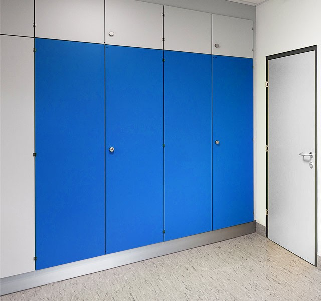 High Cupboards with continous doors ARMADIO-BASE