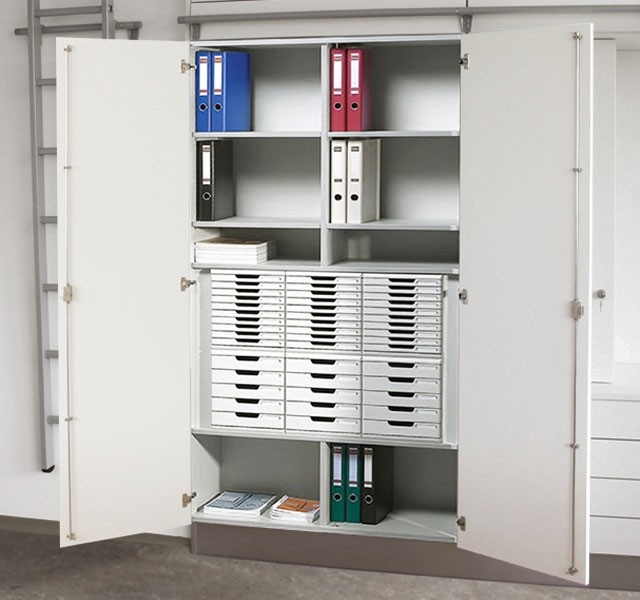 High cupboard with form drawers ARMADIO-OFFICE