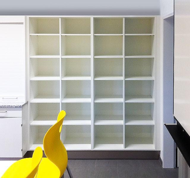High cupboard shelves ARMADIO-BASE