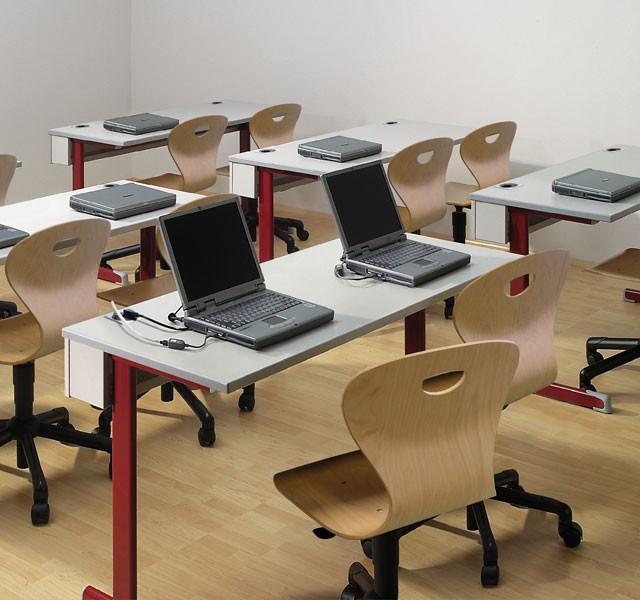 Kufen-Laptoptische für Schüler