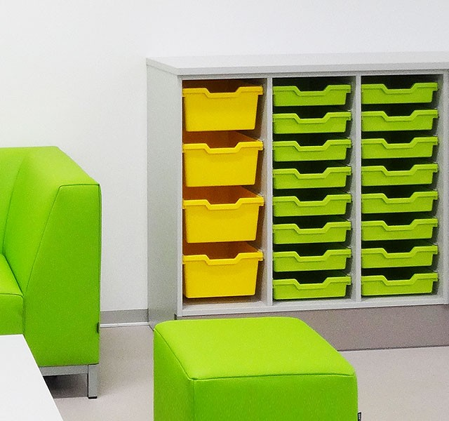 Students compartment cupboards for storage boxes ARMADIO-CLASS