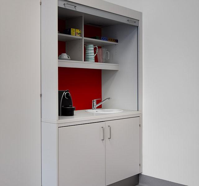 Kleinstküchen ARMADIO-OFFICE