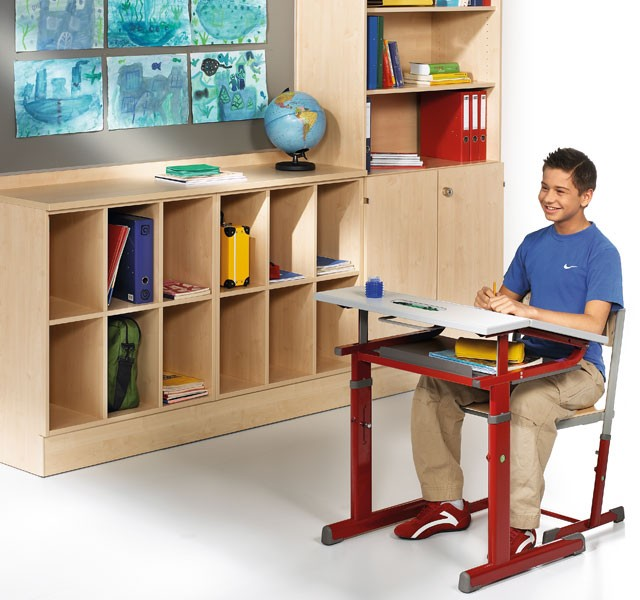 Students compartment cupboards with compartments in folder height ARMADIO-CLASS