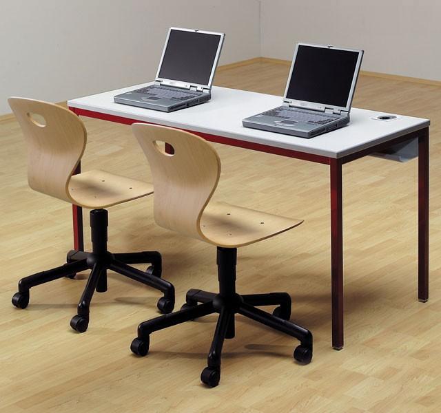 Vierfuß-Laptoptische für Schüler