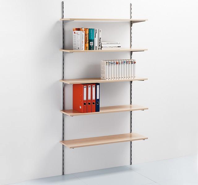 Wall shelf elements