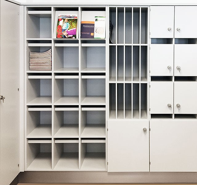 Cupboard for magazines ARMADIO-OFFICE
